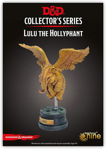 D&D Lulu The Hollyphant Collector figurine