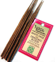 Nature Sage with Dragon Blood Resin Stick