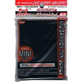 KMC Mini 50ct Black Sleeves