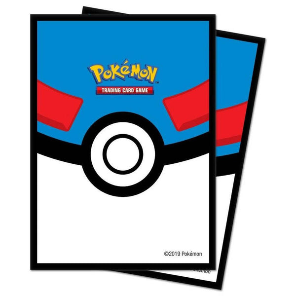 Ultra Pro Pokemon Great Ball 65ct Std sleeves