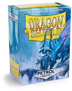 Dragon Shield Petrol Matte 100ct Box sleeves
