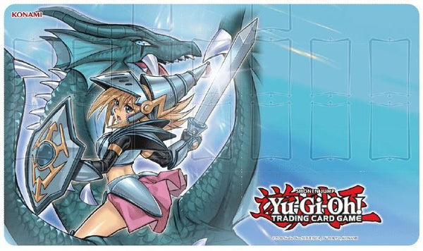 Yugioh DARK MAGICIAN GIRL THE DRAGON KNIGHT GAME MAT