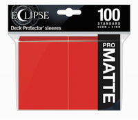 Ultra Pro Sleeves Eclipse Matte Apple Red 100-Count