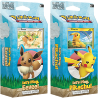 Pokemon Let's Play Eevee and Pikachu Theme Decks