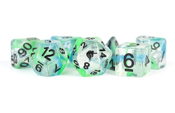MDG Unicorn Sea Kelp Dice Set