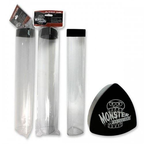Monster Protectors Playmat Tube Clear Black top
