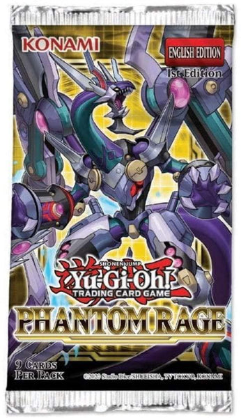 Yugioh Phantom Rage Booster Pack
