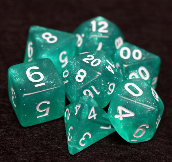 Die Hard Dice 7 Set Hakuro-White