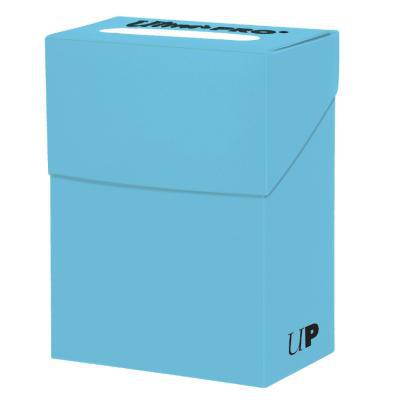 Ultra Pro 60ct Deck Box Lt Blue