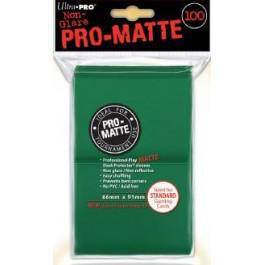 Pro Matte Green 100ct Sleeves
