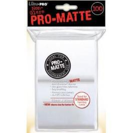 Pro Matte White 100ct Sleeves