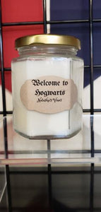 Welcome to Hogwarts 6 oz candle
