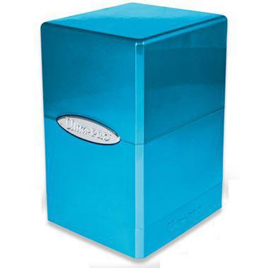 Blue Metallic Satin Ultra Pro Tower Deck Box