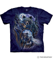 Journey To The Dream time Bear T-Shirt L