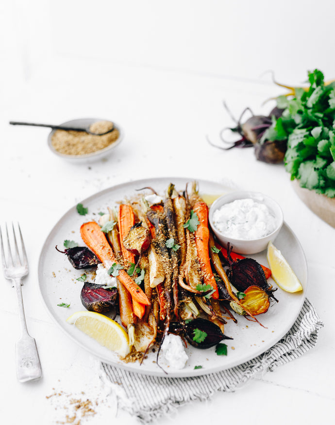 Roast Veggie Medley with Dukkah