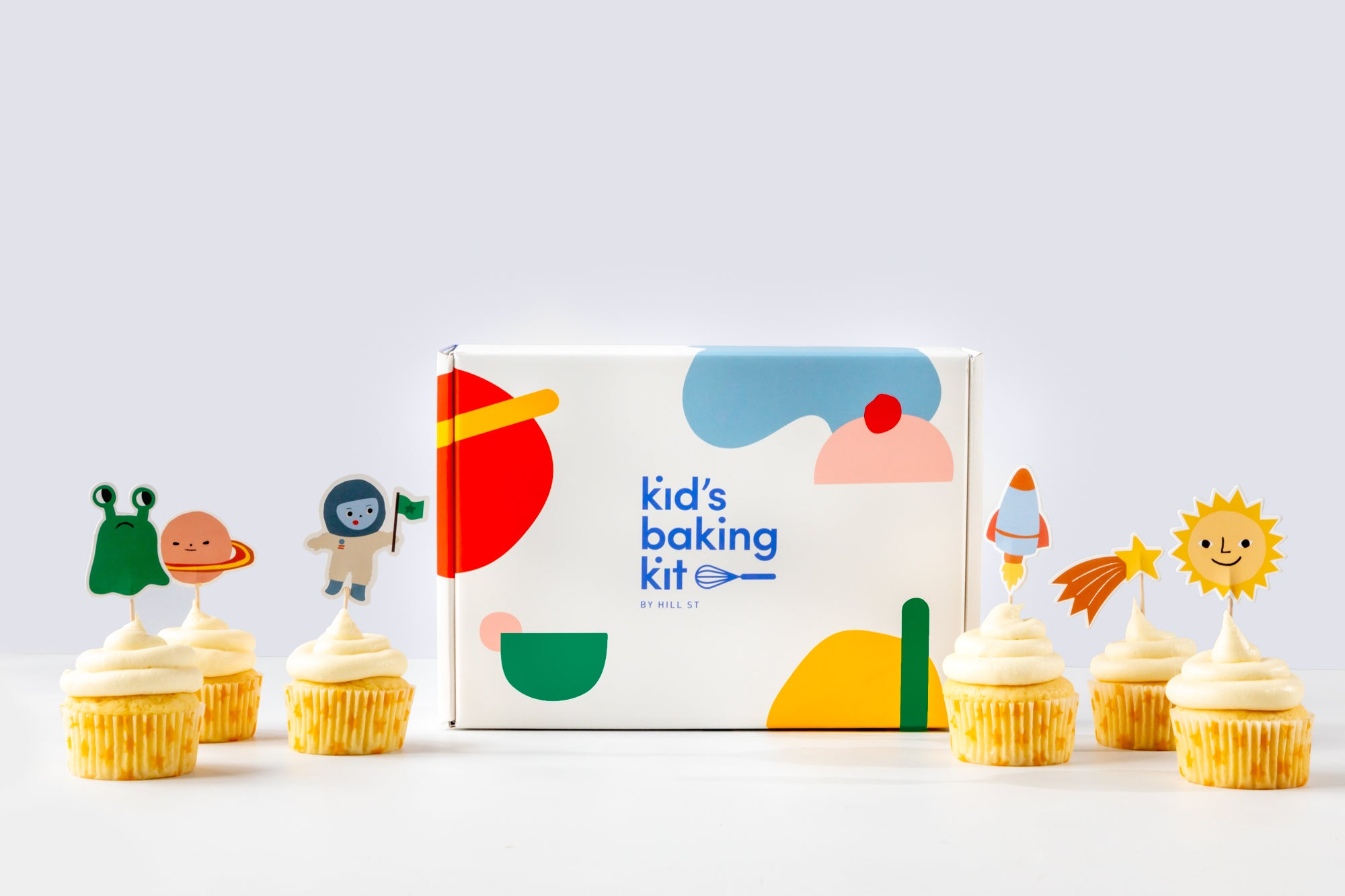 Kids Baking Kit | Cosmic Cupcakes
