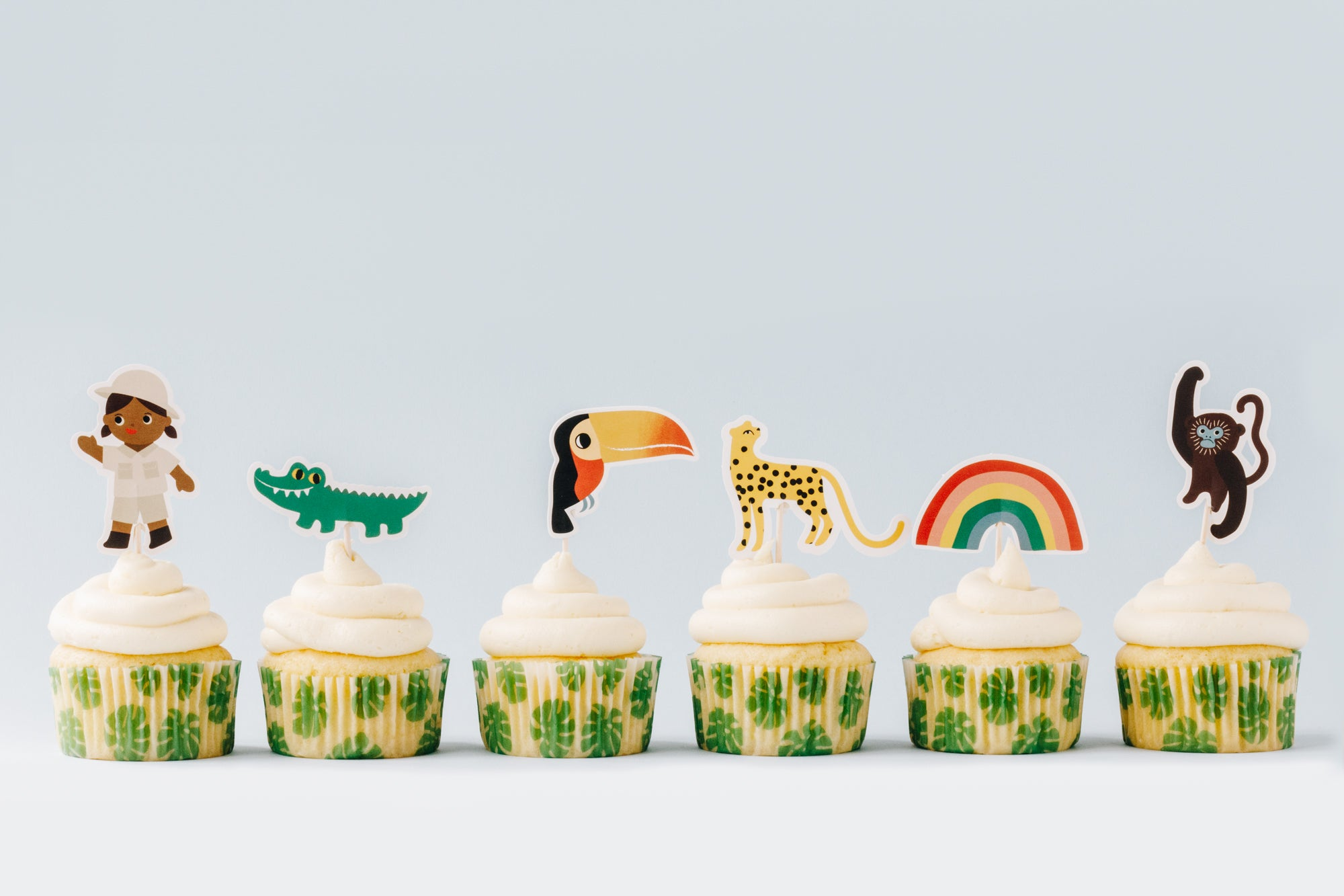 Kids Baking Kit | Jungle Cupcakes