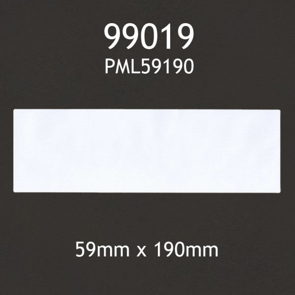4XL and Many More 10 Rolls Dymo 99019 Compatible 59mm x 190mm Large Lever Arch Labels,Compatible with Dymo 450 450 Turbo