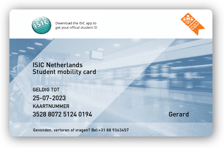 ISIC mobility card