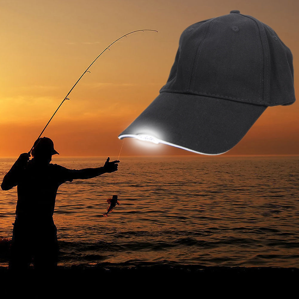 Glow In Dark Fishing Hat