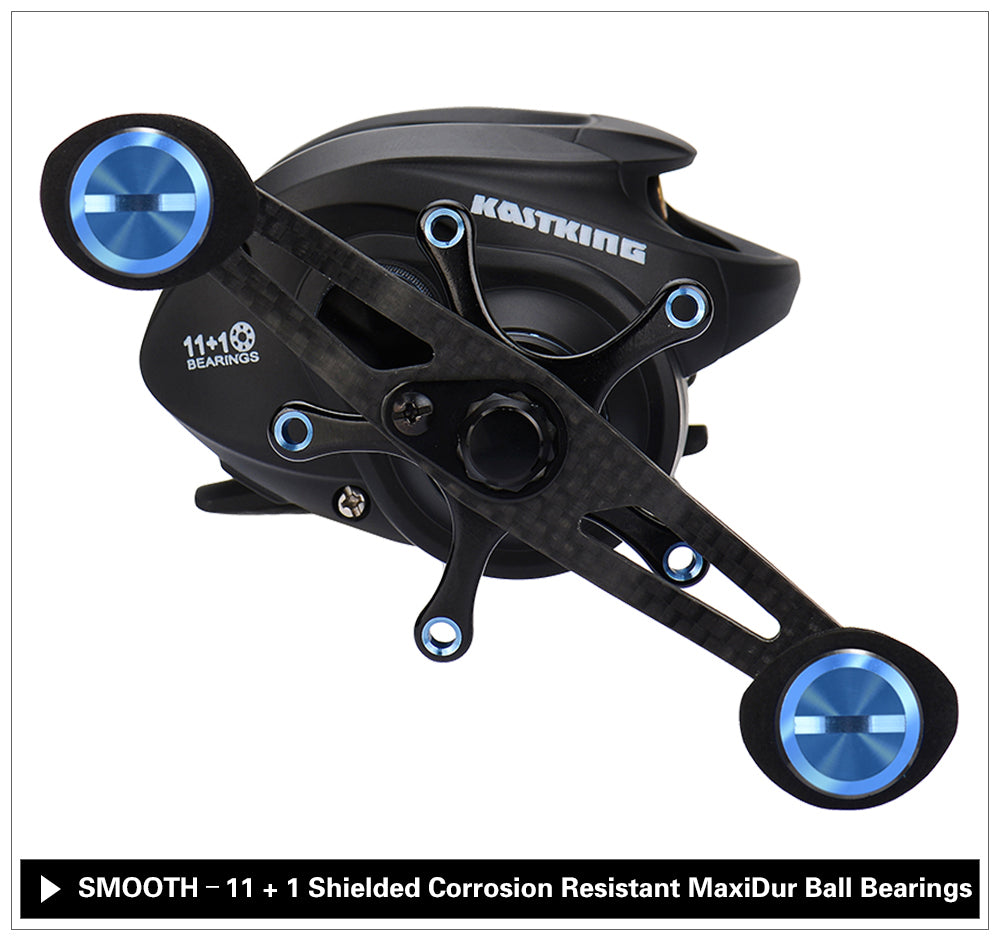 Carbon Fiber Bait Casting Fishing Reel