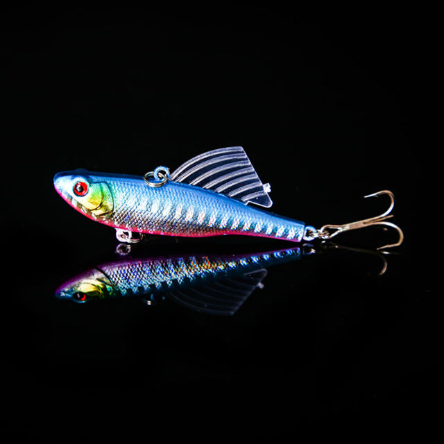 Diving Swivel Jig Wing Lure
