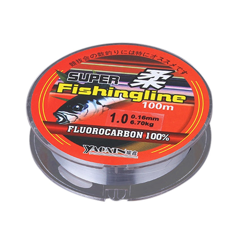 Transparent Not Fluorocarbon Fishing Line