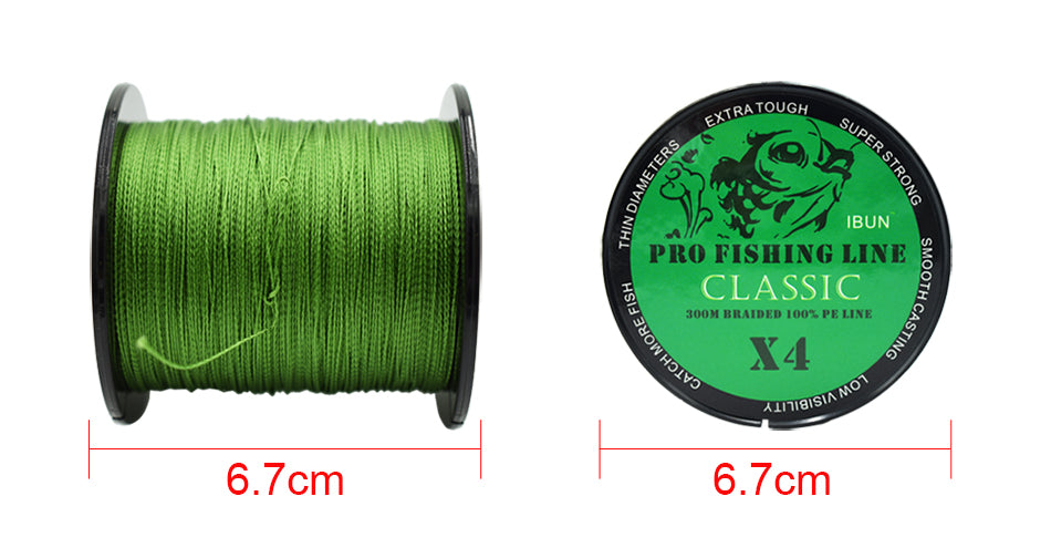 Super Strong 4 Strands Fish Wire