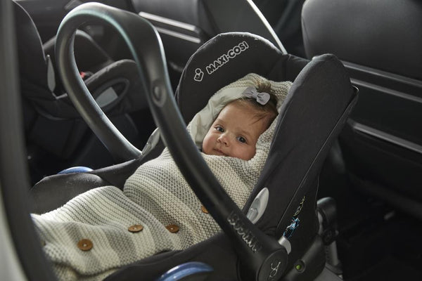 Seven reasons to use a car seat wrap for your baby