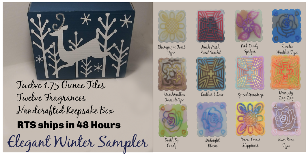 Elegant Winter Box RTS 48 hours or less