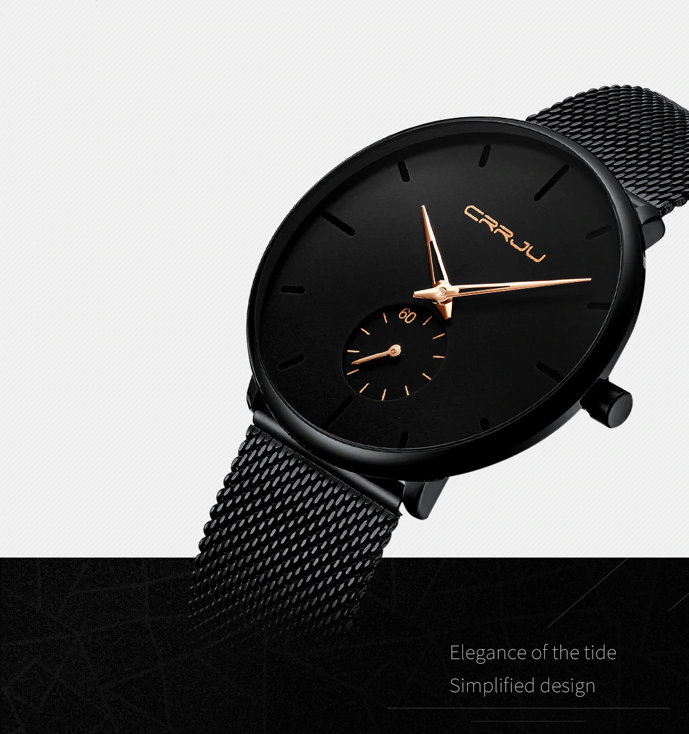 Black Carbon - Quartz Watch | Stigma Watches™ - Online Store