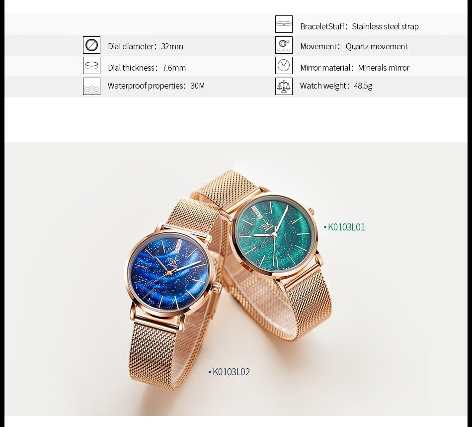 Malibu - Quartz Watch | Stigma Watches™ - Online Store