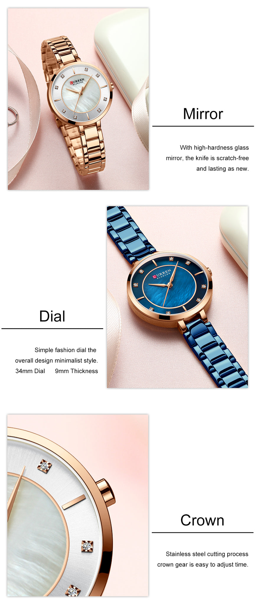 Azure - Quartz Watch | Stigma Watches™ - Online Store