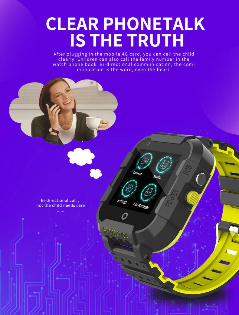 DF39 GPS - Kids Smart Watch | Stigma Watches™ - Online Store