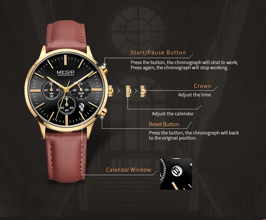 Oculos - Quartz Watch | Stigma Watches™ - Online Store