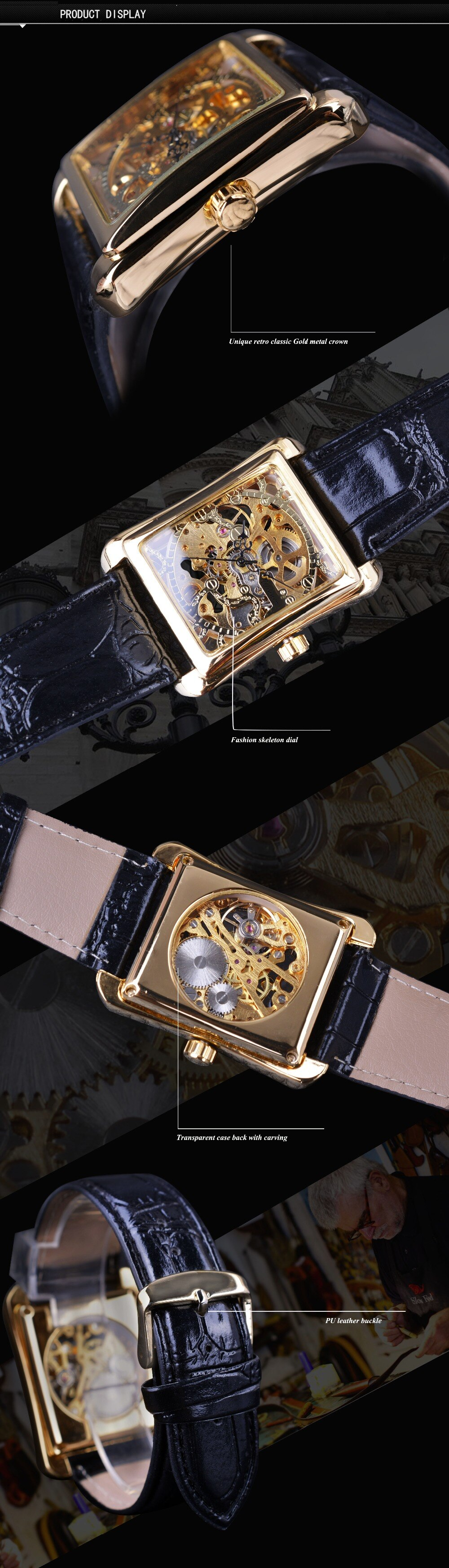 Hollow - Mechanical Watch | Stigma Watches™ - Online Store