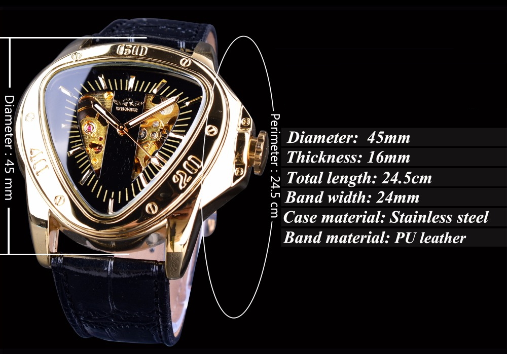Triangle - Mechanical Watch | Stigma Watches™ - Online Store