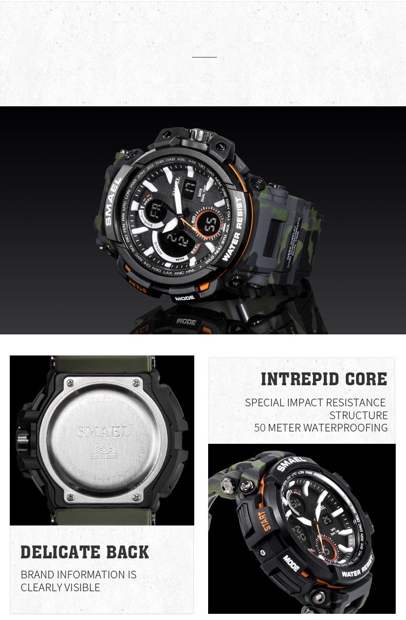 Grid - Digital Watch | Stigma Watches™ - Online Store