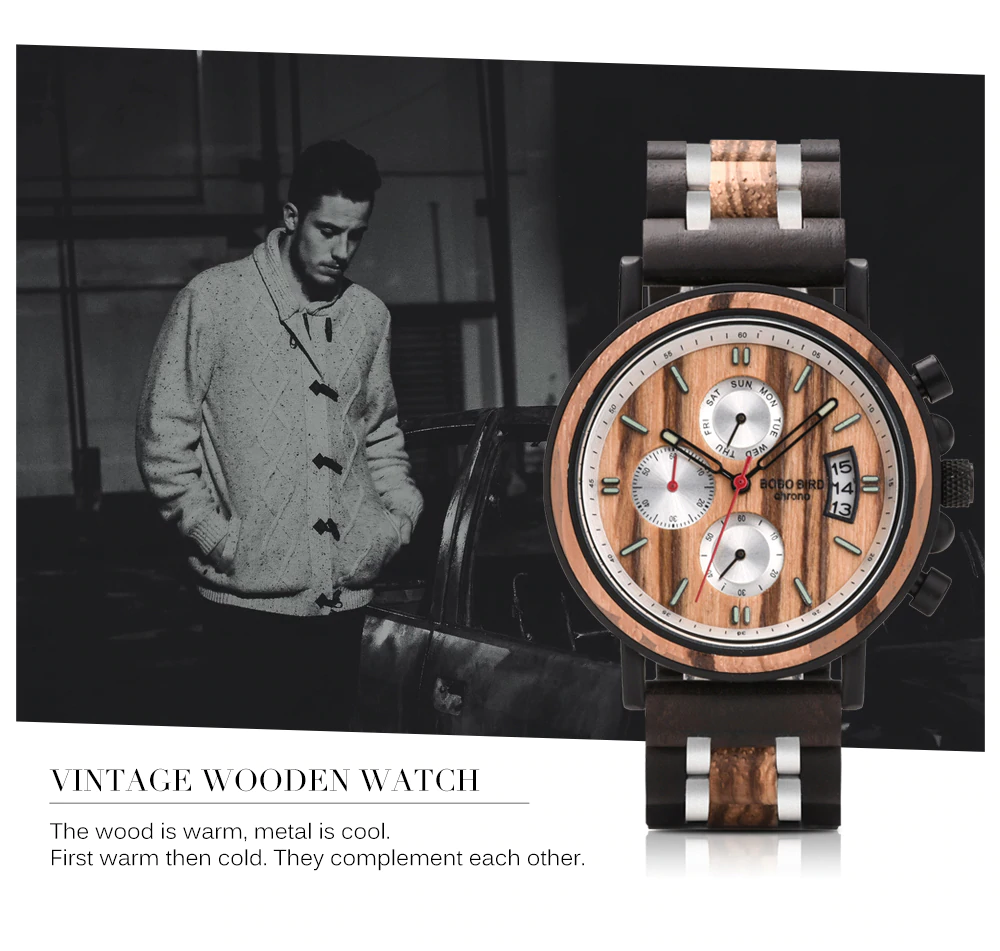 Milano - Wood Watch | Stigma Watches™ - Online Store