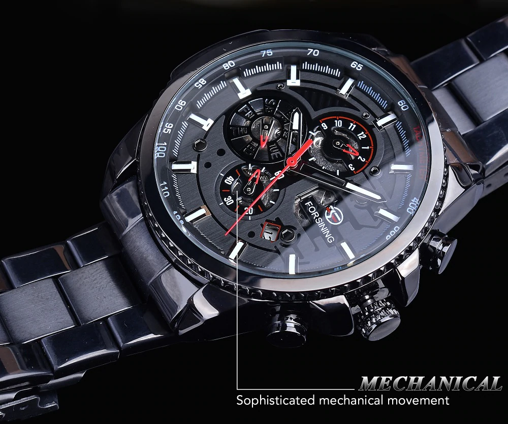 Three Dials - Mechanical Watch | Stigma Watches™ - Online Store
