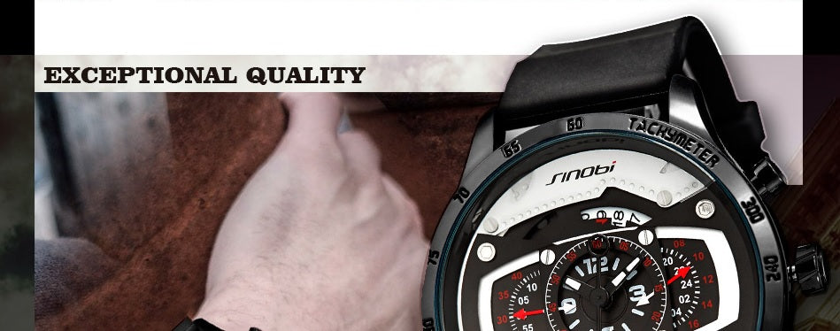 Race - Quartz Watch | Stigma Watches™ - Online Store