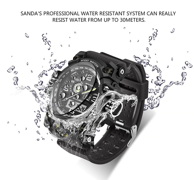 Sanda - Digital Watch | Stigma Watches™ - Online Store