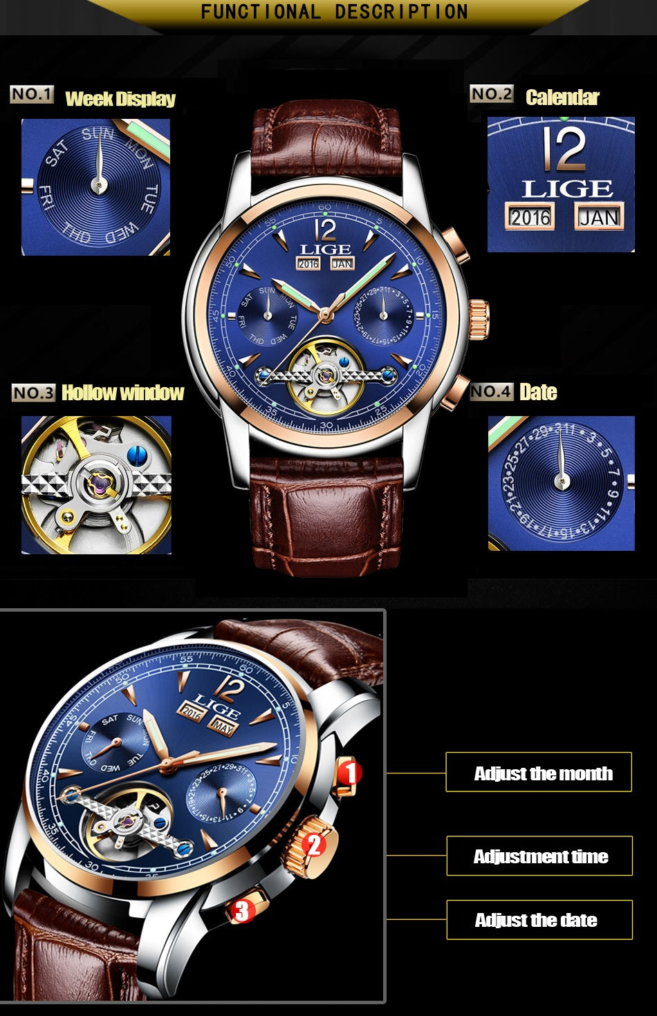 Ares - Mechanical Watch | Stigma Watches™ - Online Store