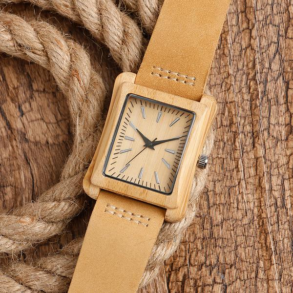 Rectangledial - Wood Watch | Stigma Watches™ - Online Store