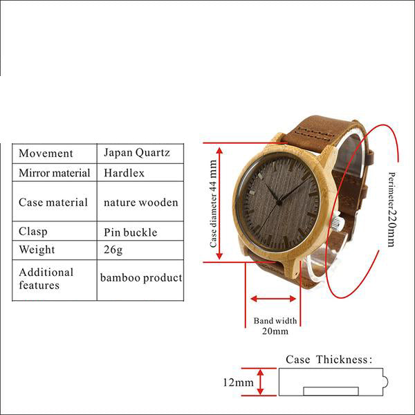 Simple Vintage - Wood Watch | Stigma Watches™ - Online Store
