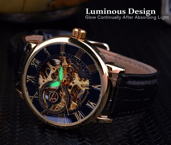 Skeleton - Mechanical Watch | Stigma Watches™ - Online Store