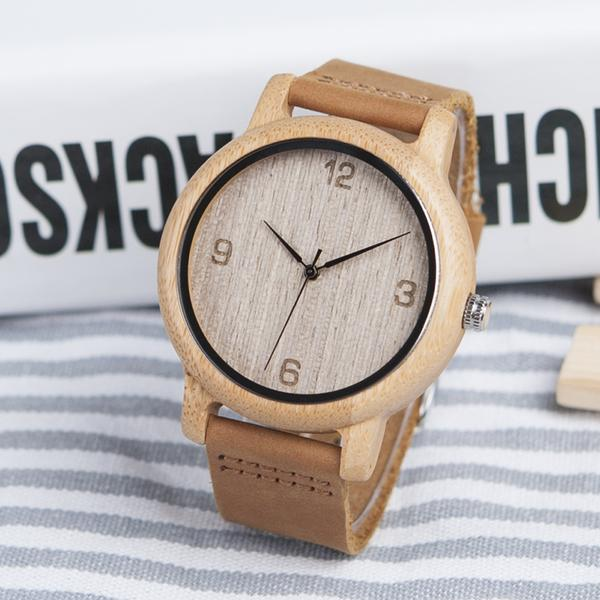 Women Antique Bamboo Watch