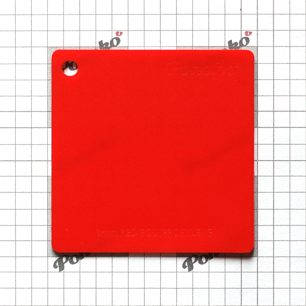 Polypropylene - Red
