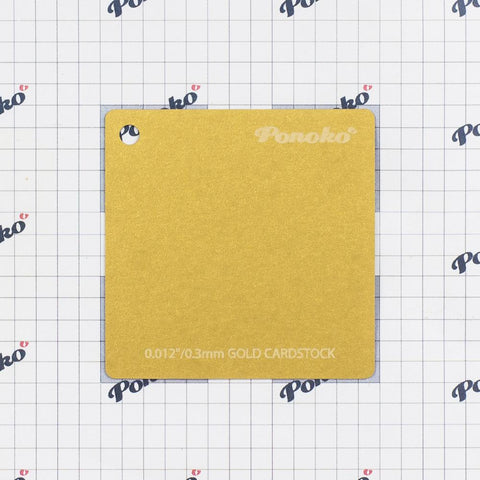 Cardstock - Gold