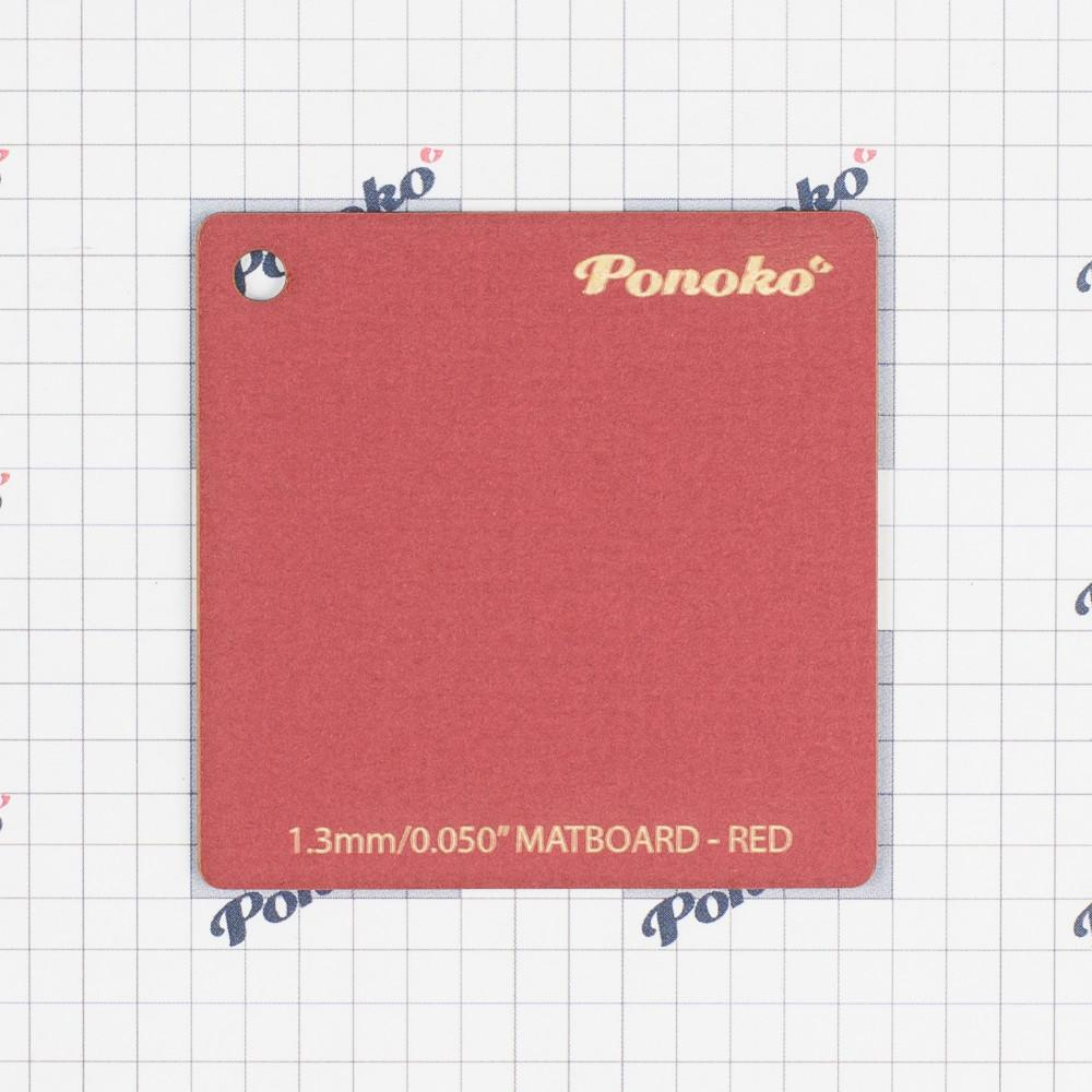 Mat Board - Red